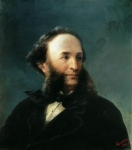 Ivan Konstantinovich Aivazovsky (1817 - 1900) Self-portrait Oil on canvas, 1874 74 x 58 cm (29.13